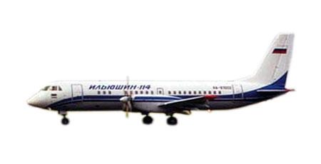 Самолёты транспортные ильюшин ил 114